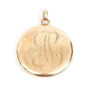 Antique 14K Gold Locket