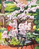 Stephen Hankin oil Flowering Tree 2004