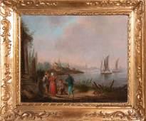 156: Manner of Claude Lorraine- 2 Paintings