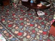 182 Elizabeth Eakins Hand Woven Wool Rug