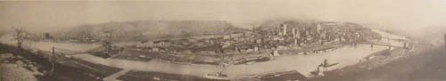 2: Pittsburgh from Mt. Washington, 1903 Photo-lithograp