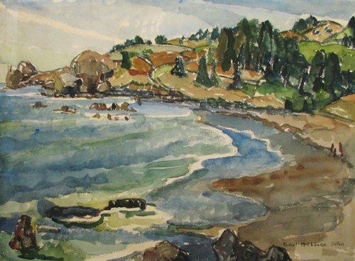 13: Rachel McClelland Sutton Coastal Landscape