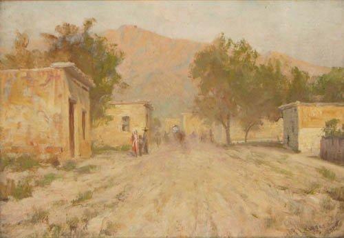 15: Martin B. Leisser Old Town Albuquerque Ptg