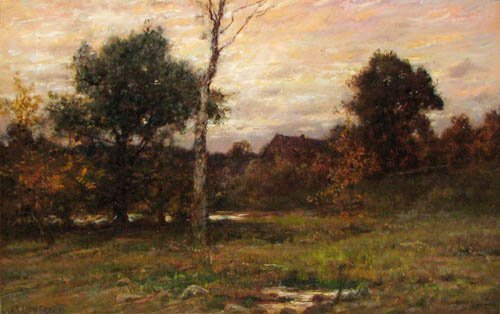 16: Charles Linford Autumn Landscape painting