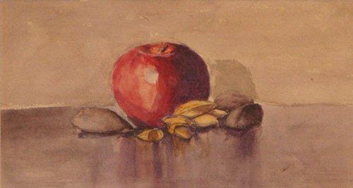 20: Early Rachel McClelland Sutton Apple Still Life