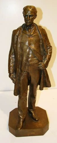 113A: John Quincy Adams Ward bronze of Henry B. Hyde