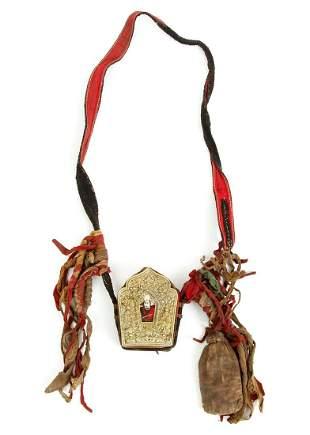 Tibetan Gau Amulet Case and Medicine Bag