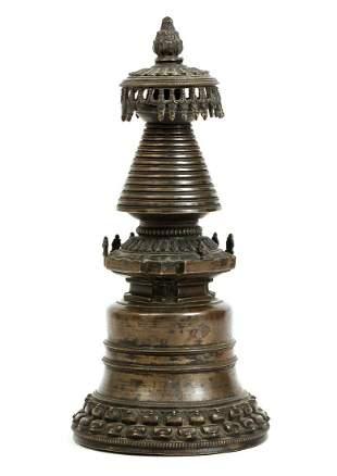 Tibetan Kadam Chorten Stupa 14th cent.