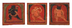 Three 14th c. Tsakali Initiation Cards