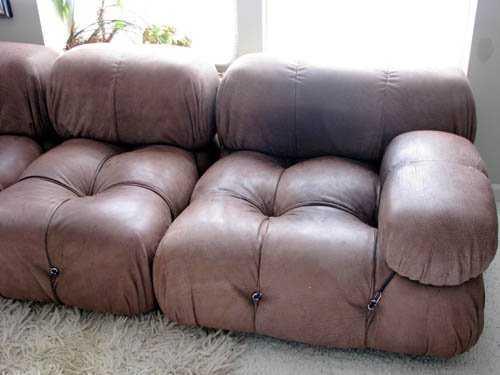 752  Mario Bellini Camaleonda 8 pc modular sofa 828063e89ad52