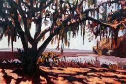 Stephen Hankin Beaufort SC Oil Painting 2009