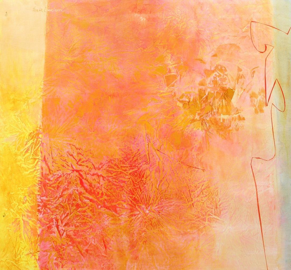 Eva Lu Damianos Large Painting Abstract