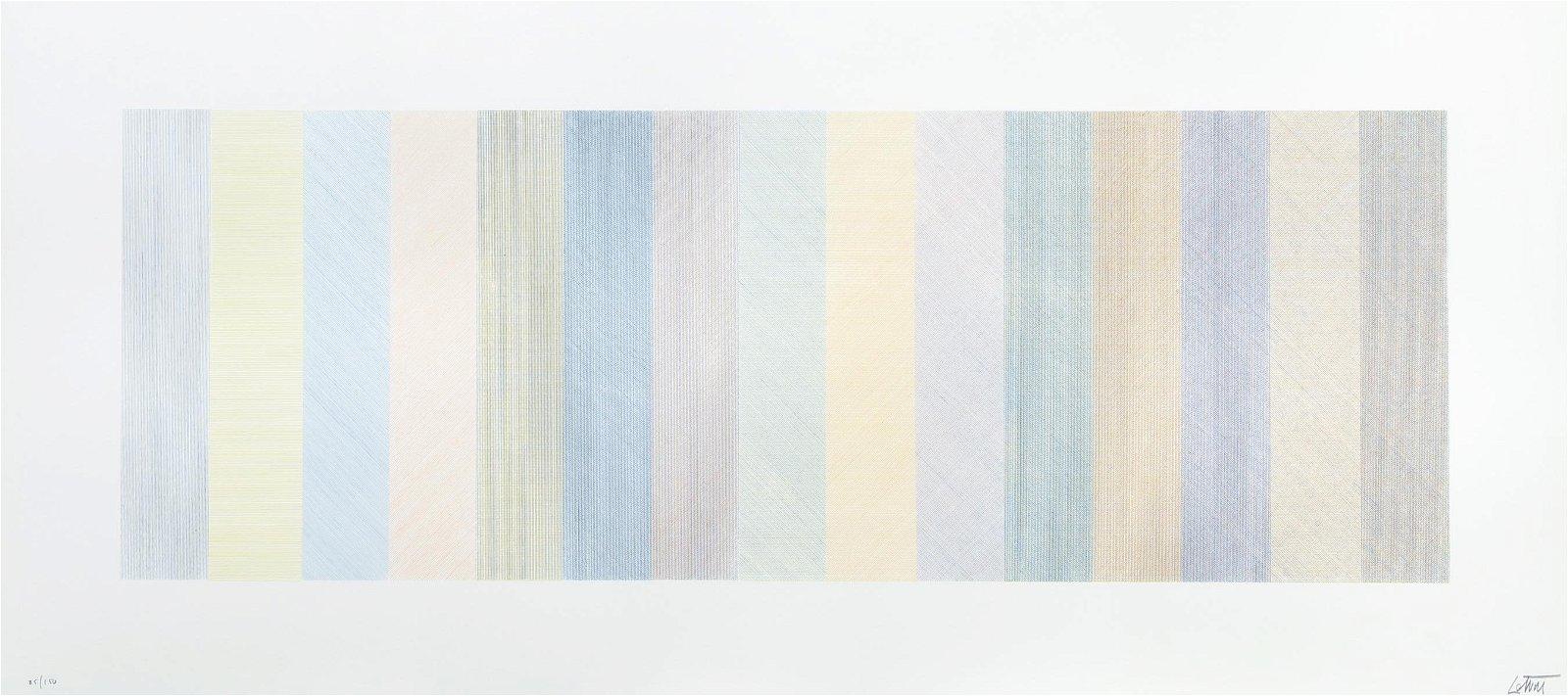 Sol LeWitt 1970 litho Horizontal Composite