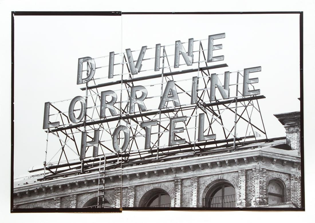 Mark Perrott Divine Lorraine Hotel 2007 photo collage