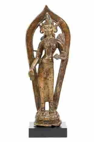 Tibetan Buddhist Figure Standing Tara