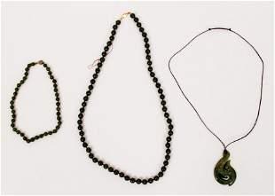 Spinach Jade Jewelry