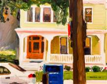 Stephen Hankin Shadyside Pittsburgh Oil Ptg
