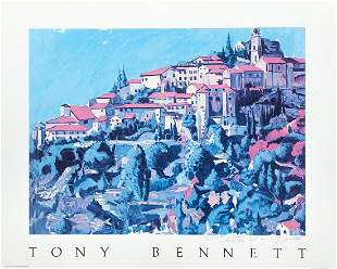 Tony Bennett Benedetto Signed Poster