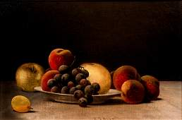 Barton Hays Still Life of Fruit painting