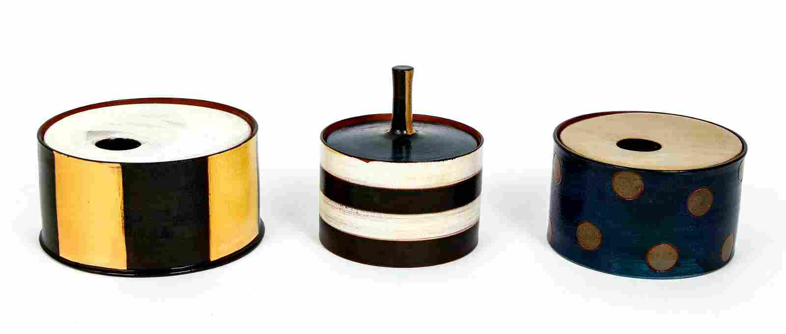 3 Jennifer Bernhard Hatfield unusual lidded ceramic