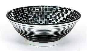 Edward Eberle porcelain bowl Map of Three