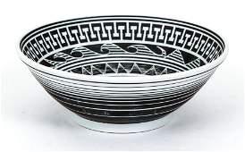 Edward Eberle porcelain bowl Sunflower