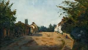 Rural English Village High Street