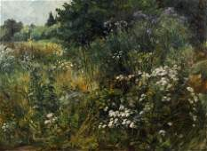 Hans Bertle Forest Glade 1910 Oil Painting