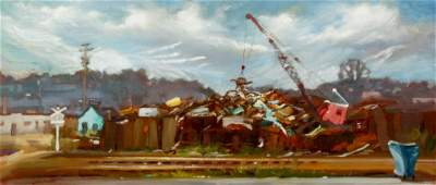 Phil Salvato oil Wedner Scrap Metal Yard