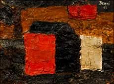 Antonio Berni Abstract Oil Painting 1951 Argentina