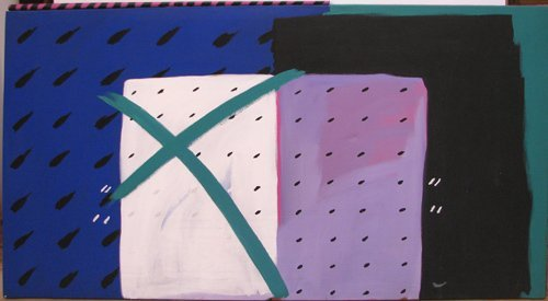 18: Rachel Farley Abstract ptg Jazzbo #8