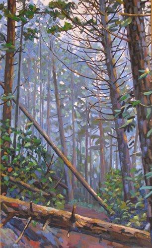 23: Bud Gibbons Landscape painting