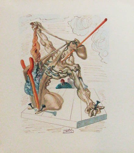 163: Pair of Dali Divine Comedy prints