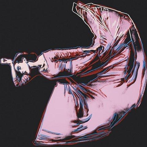 "349: Andy Warhol ""The Kick"" Martha Graham"