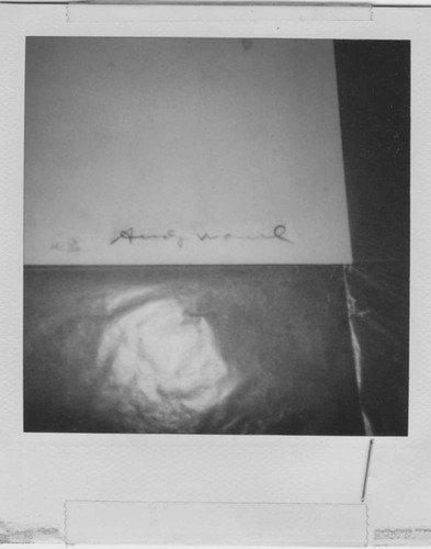 "349: Andy Warhol ""The Kick"" Martha Graham - 5"