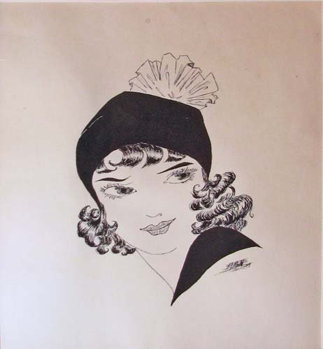 500: Illustration of a Flapper