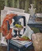 689 Ruth Erb Hoffman cubist ptg Decorators Samples