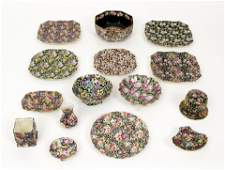 Assorted Chintz ware incl. Nanwich, Crown Ducal, Old