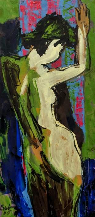 Dang Phuong Viet Nude painting
