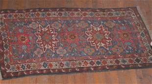 Caucasian Kazak Throw Rug