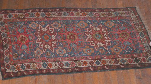 1: Caucasian Kazak Throw Rug