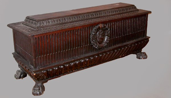 8: 19th century Italian Style Cassone Chest