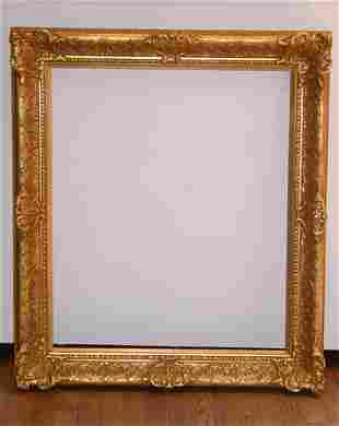 Louis the 16th Style Gilded Wood Frame