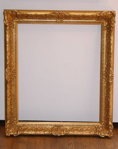 9: Louis the 16th Style Gilded Wood Frame