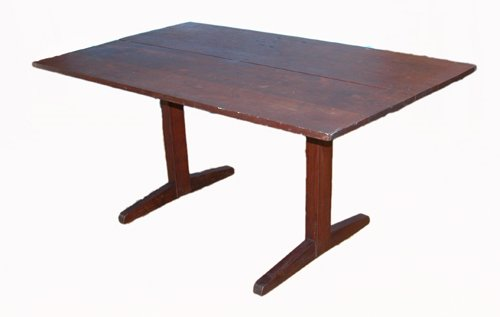 20: Nakashima Trestle Table with Three Butterfly Joints
