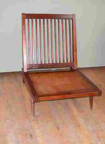 Nakashima Early Lounge Chair with turned legs