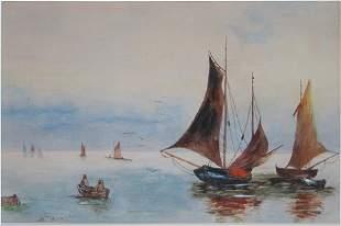 Hans Von Bartels, Fishing Boats