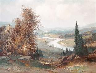 Willi Bauer, Landscape