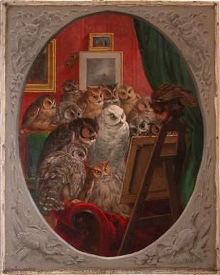 William Holbrook Beard, The Critics, (Owls)