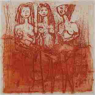 Andre Bicat, Three Women